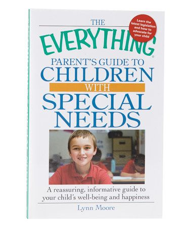 Take a look at this Everything Parent's Guide to Kids With Special Needs Paperback by World Publications on #zulily today!