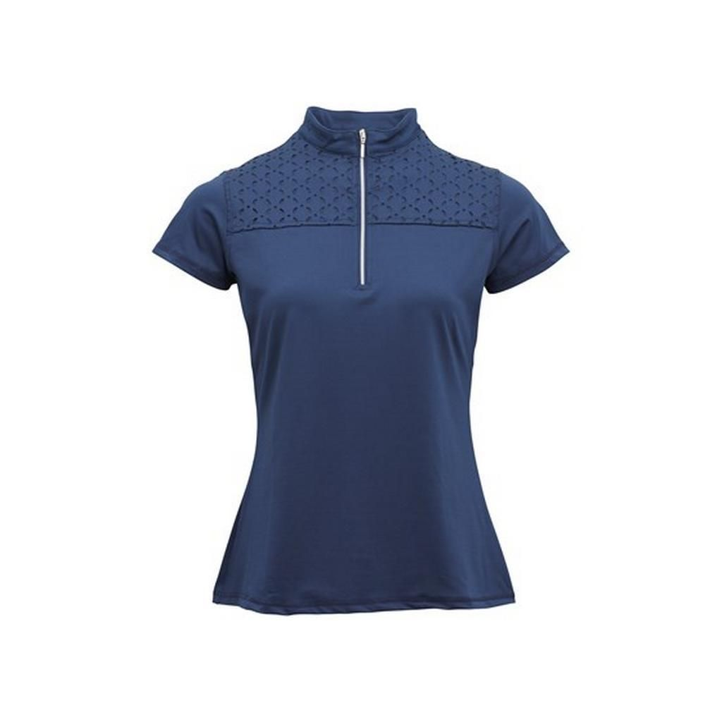 Montar Ladies Patsy Lasercut Shirt - Blueberry