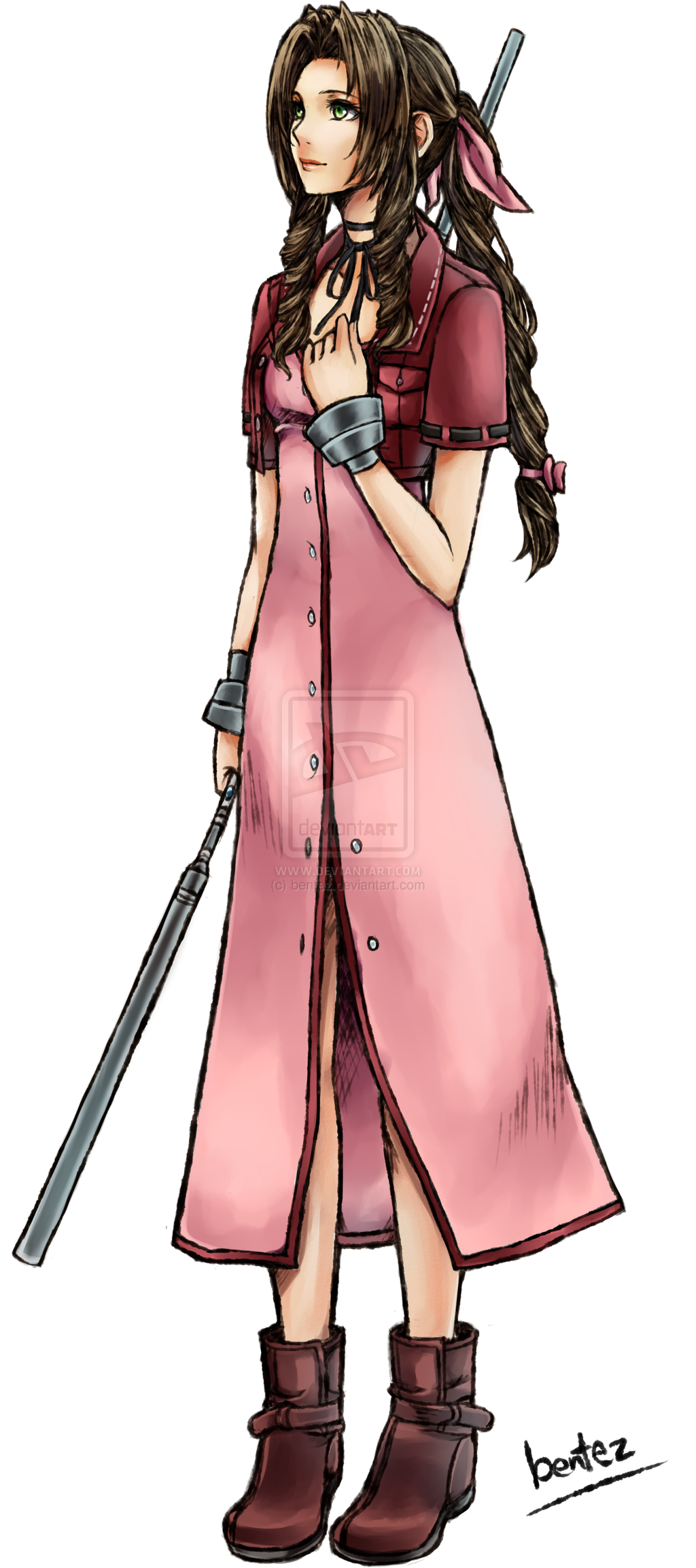 aerith gainsborough from ff7