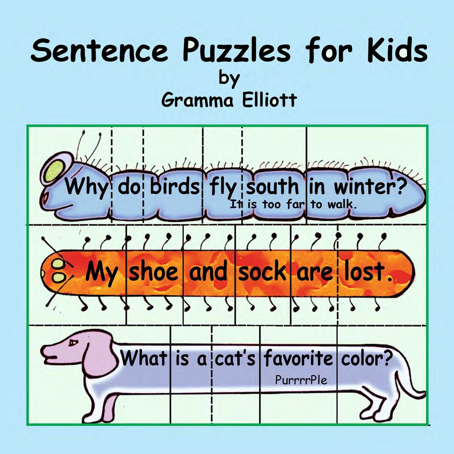 Sentence Puzzles For Kids