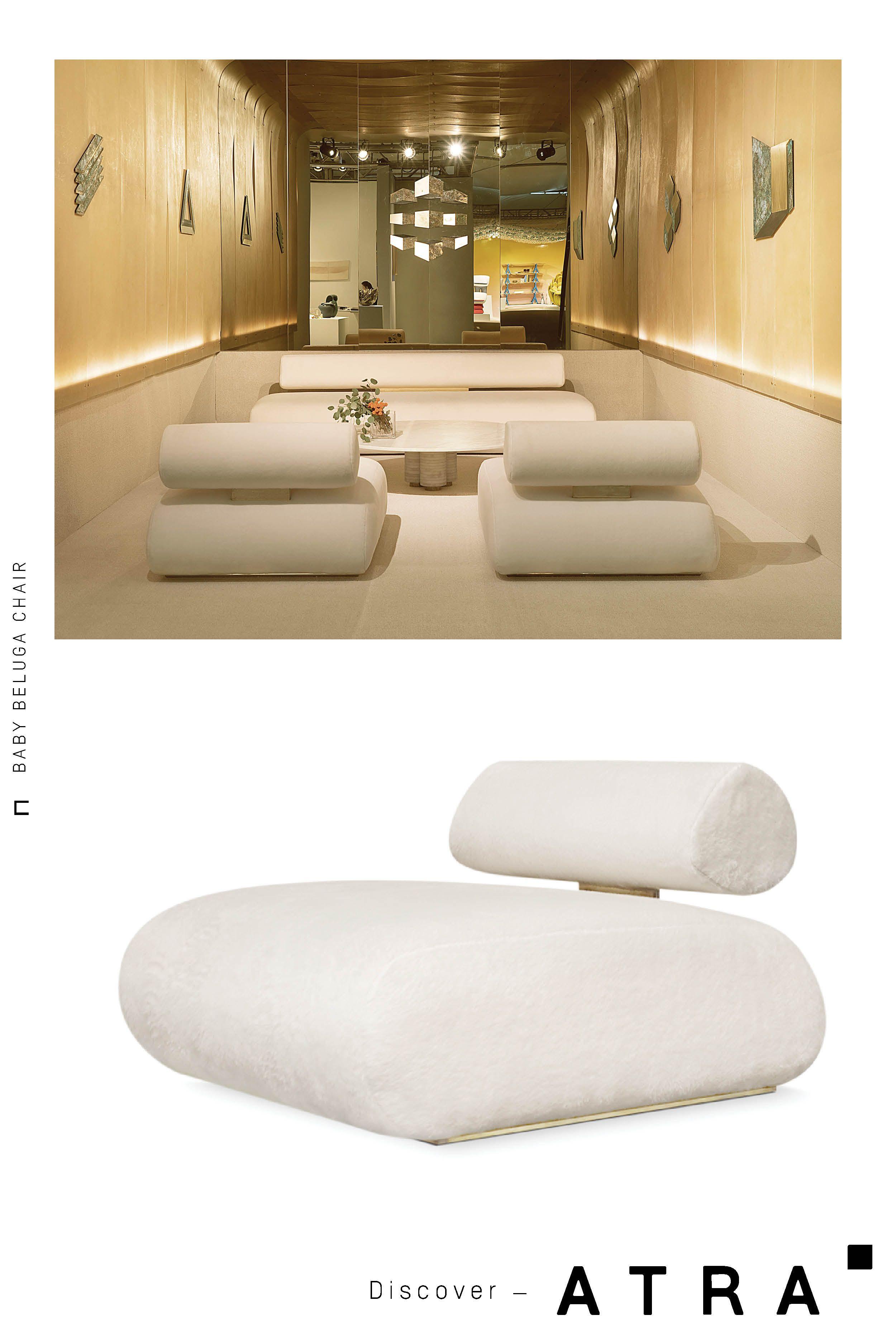6 900 Baby Beluga Love Seat Interior Design Furniture