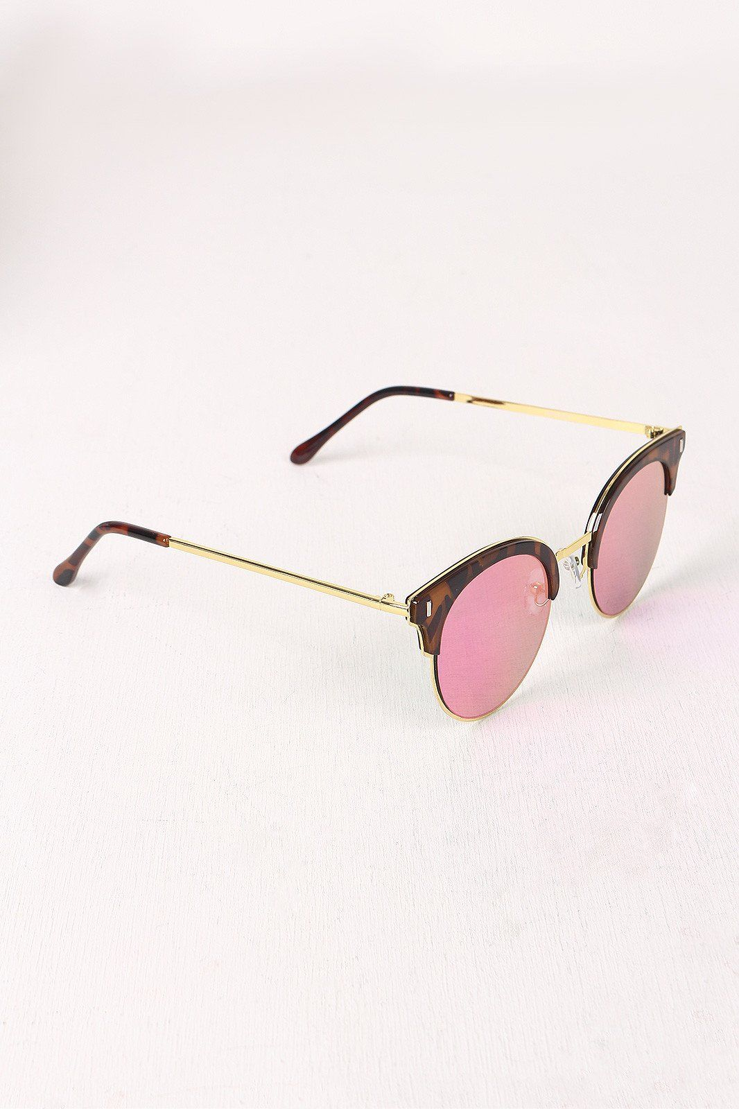 Round Clubmaster Sunglasses. These clubmaster-style sunglasses ...