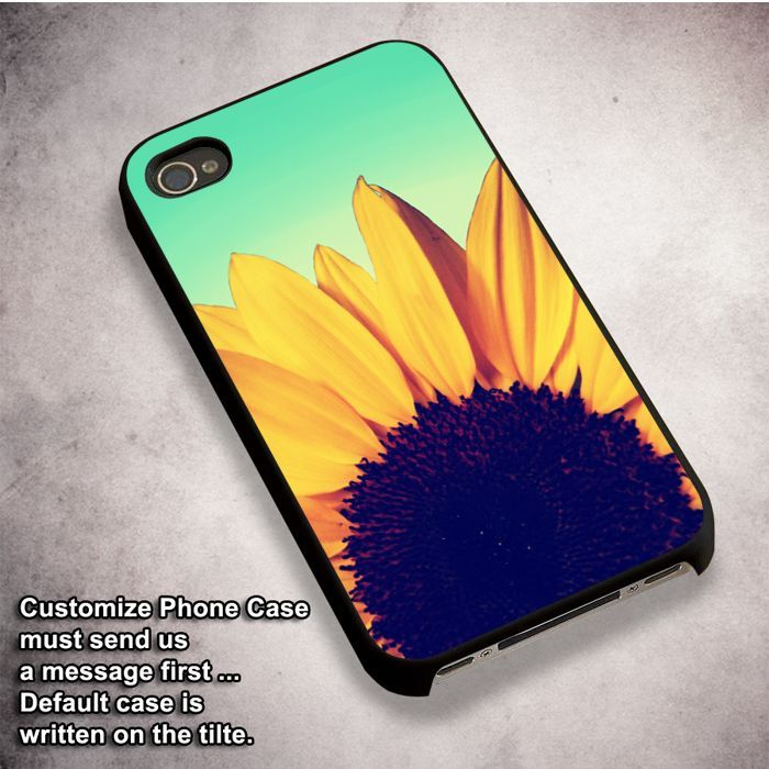 sunflower - For iPhone 4/ 4S/ 5/ 5S/ 5SE/ 5C/ 6/ 6S/ 6 PLUS/ 6S PLUS/ 7/ 7 PLUS Case And Samsung Galaxy Case