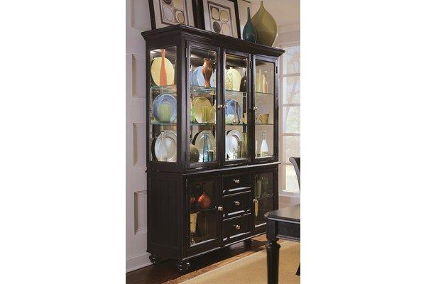 Camden Dark China Cabinet Black China Cabinet Furniture