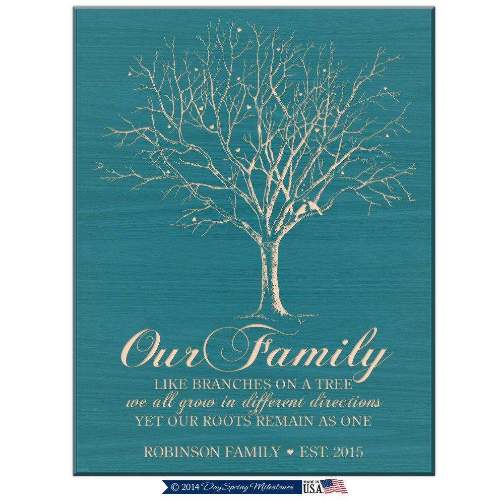 Personalized Family Tee,Custom Family Tree Art,Est.Date
