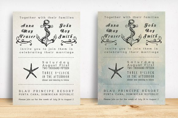 beach wedding invitation pack creativework247 wedding invitations