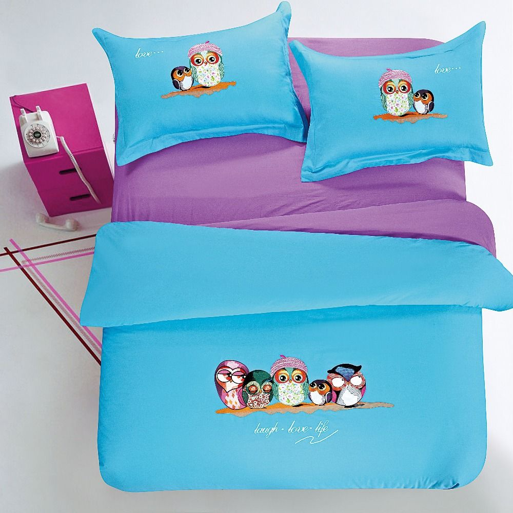 Embroidery price sheet - Best Price On 100 Cotton Bedding Sets Owl Embroidery Price 241 80 Free