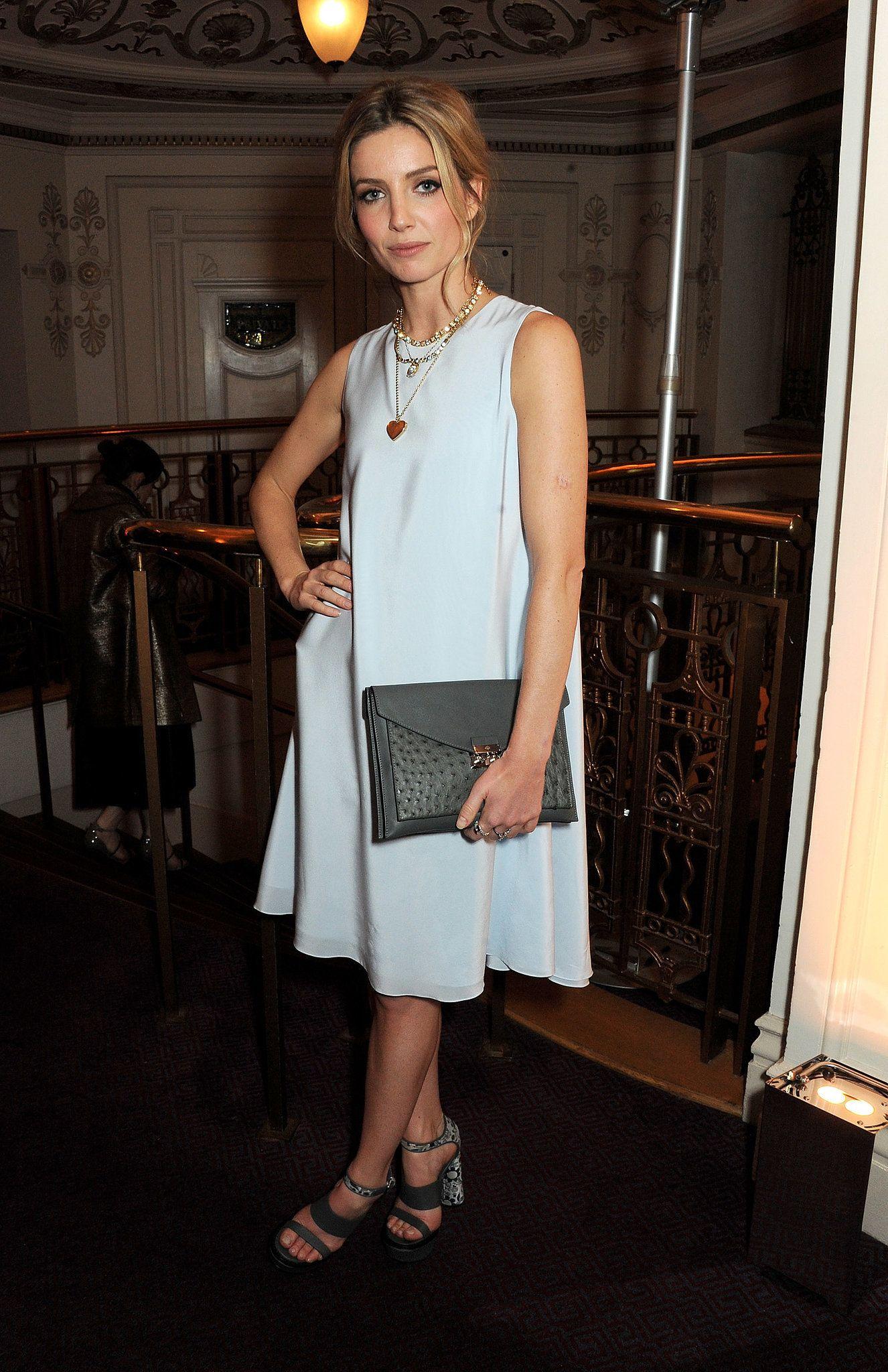 Annabelle Wallis - 2013 British Fashion Awards - Mulberry