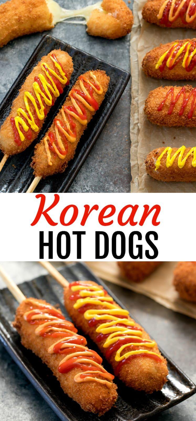 Korean hot dogs recipe korean hot dog recipe food