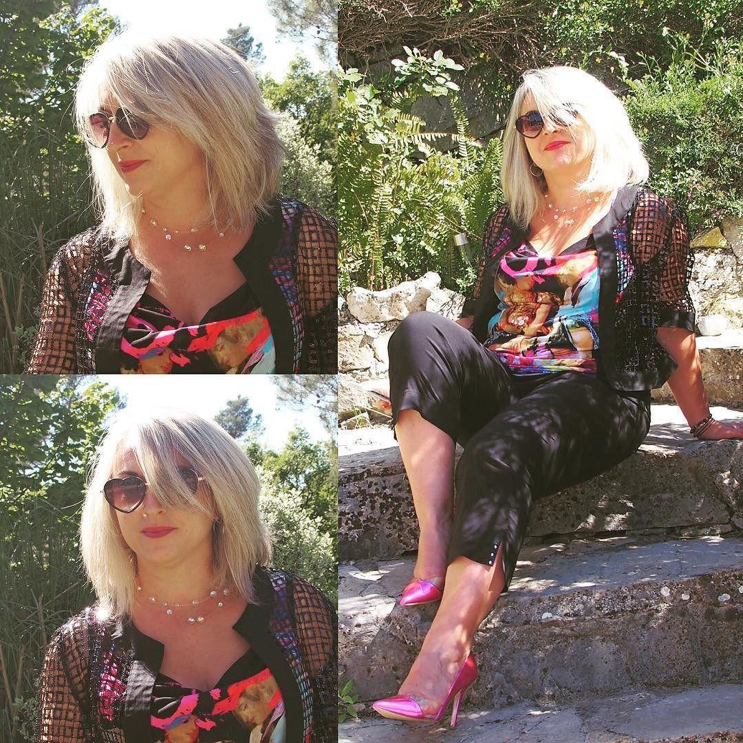Un bien joli ensemble BLEU D'AZUR Débardeur Orsay gilet Love et pantacourt Lola Et si vous pouviez essayer vous constateriez comme moi que les matières sont souples et confortables!!! #bleudazur #bleu #azur #blogueuse #blogger #blog #goodlife #good #mode #collections #fashion #look #lookoftheday #lookbook #look #french #francais #france http://themouse.org