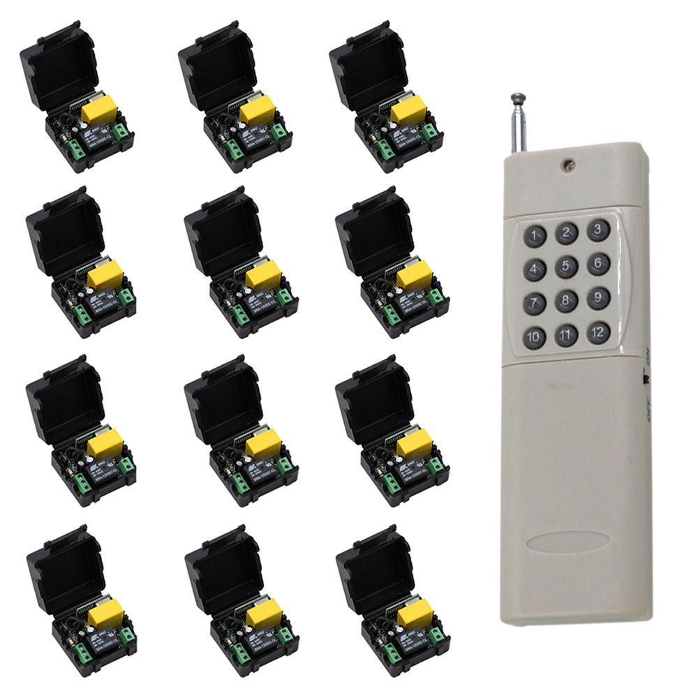 Long Distance Mini Size 220V 1CH Wireless Remote Control