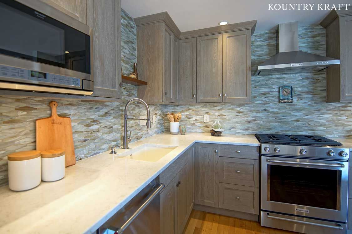 Kountrykraft Weatheredgraincabinets Customcabinetry Custom Kitchen Cabinets Custom Kitchens Cabinet