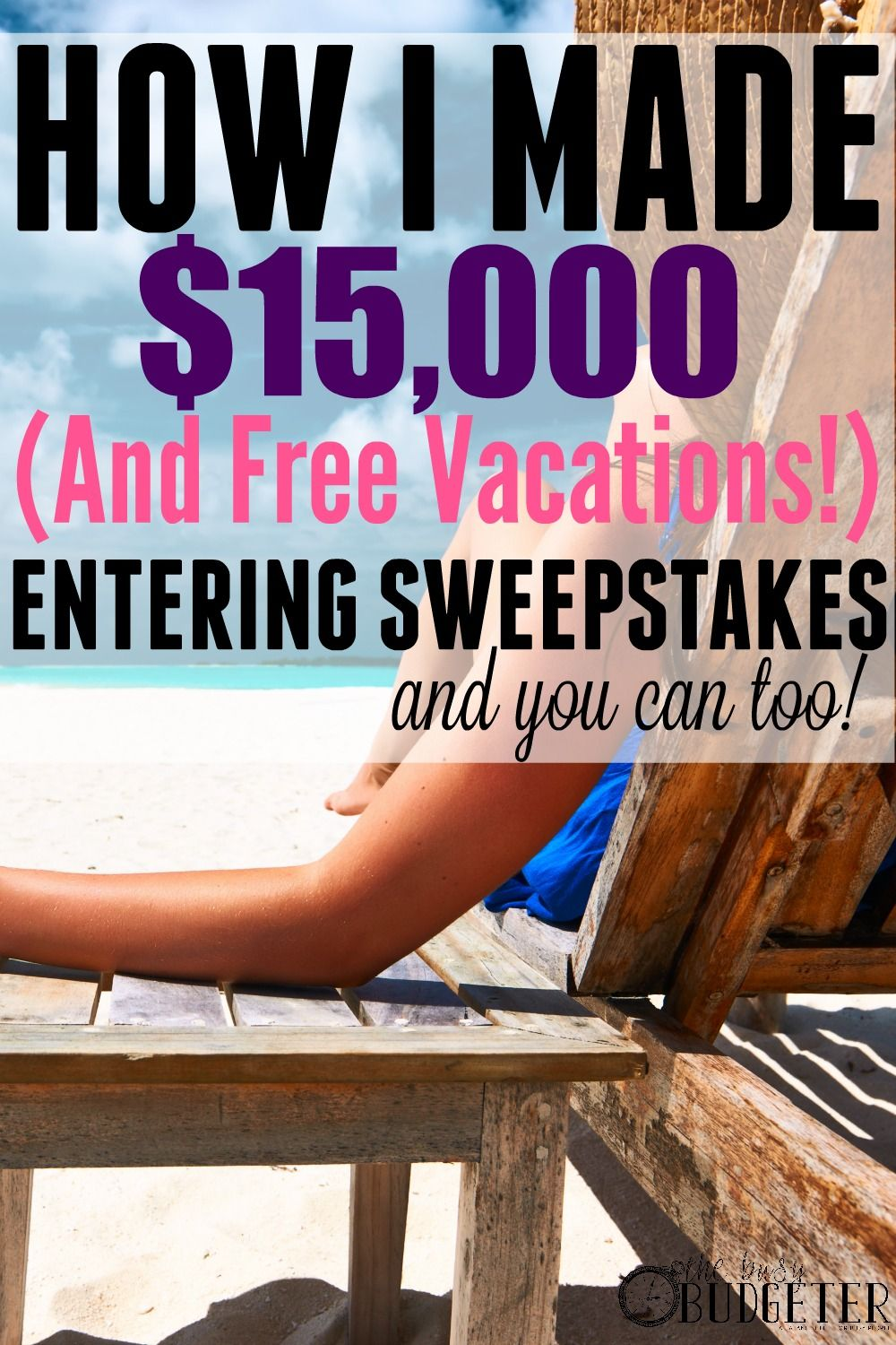 Entering Online Sweepstakes How I Made 15K & Won Free