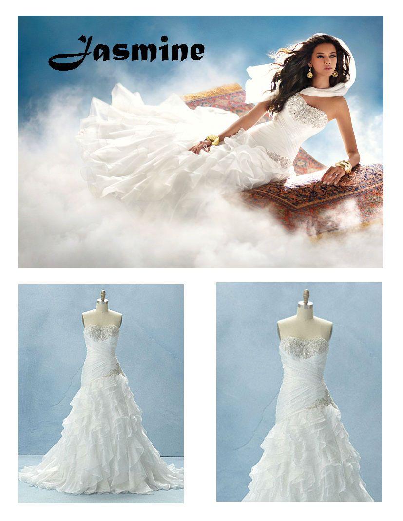 Pin By Sarah Vieau On Addicted To Disney Jasmine Wedding Dress Stunning Wedding Dresses Disney Princess Wedding Dresses [ jpg ]