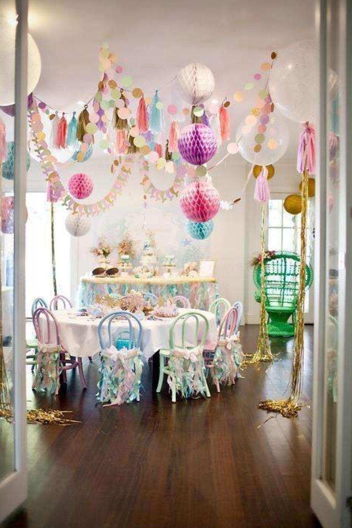 Beautiful party ideas pinterest for 17th birthday decoration ideas