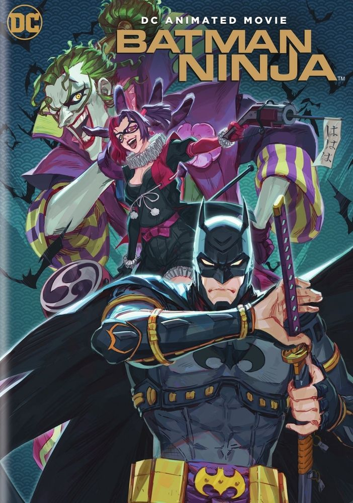 Batman Ninja Dvd 2018 Batman Ninja Ninja Movies Anime