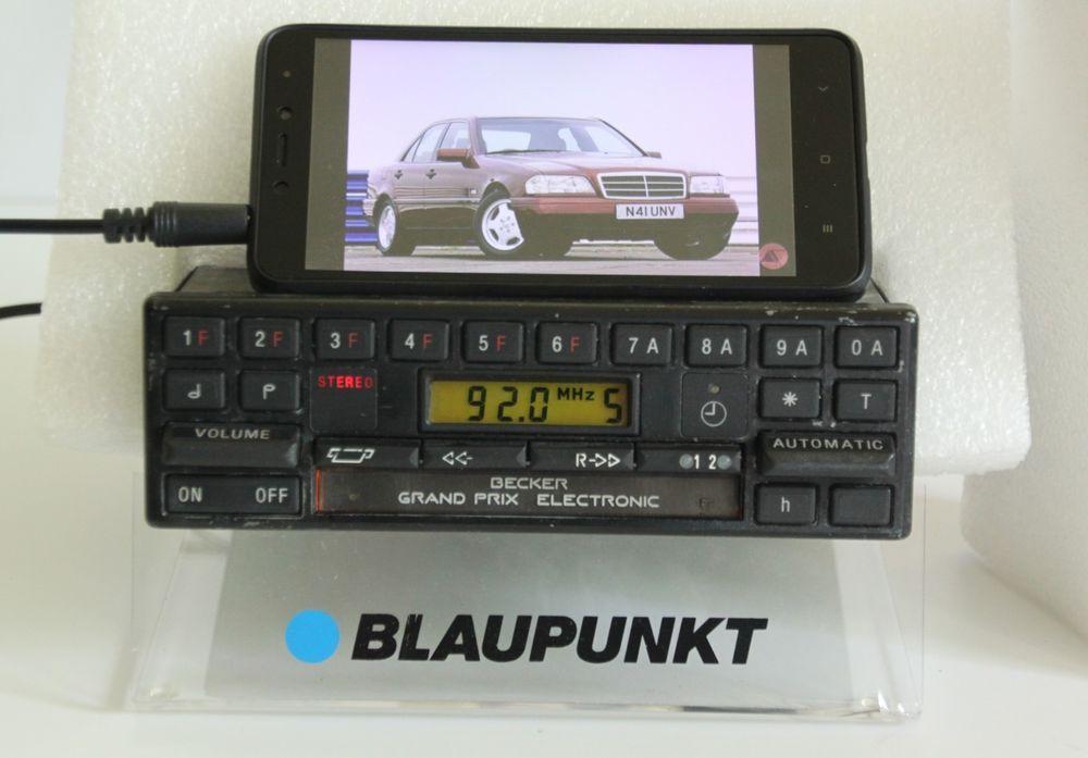 MERCEDES BECKER GRAND PRIX 612 Tape Radio R129 W123 W126 190E 300SL