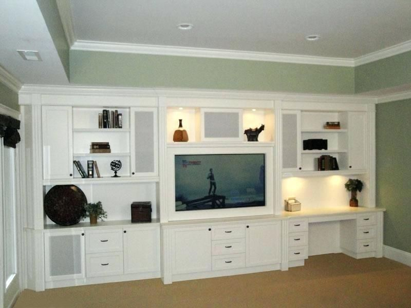 Entertainment Center Computer Desk Combo Unbelievable With Shocking And Tv Stand Ho Built In Entertainment Center Built In Wall Units Wall Entertainment Center