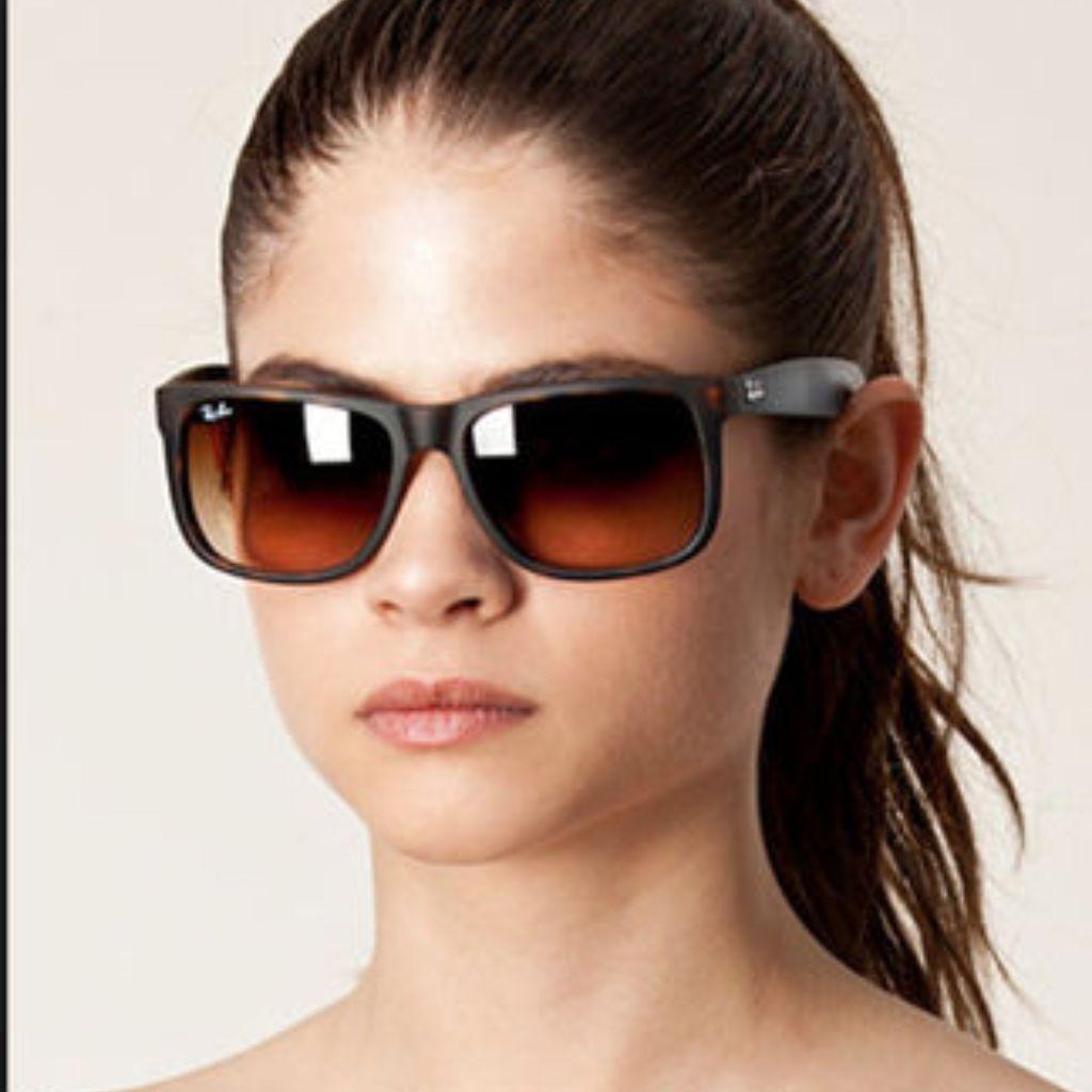 c920684ea62 Rayban Justin Classic Tortoise Shell Sunglasses