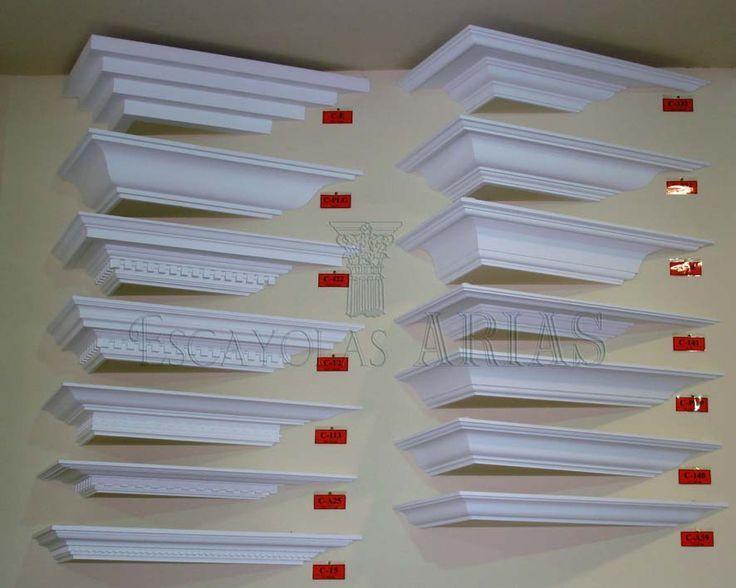 Molduras y cornisas escayolas arias idea wohnzimmer deckenleisten y wandverkleidung - Renovierungstipps wohnzimmer ...