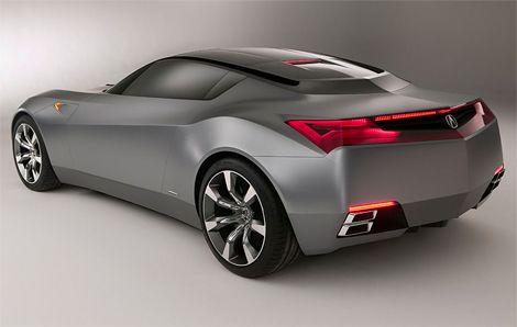 Captivating Acura   Sports Car Concept