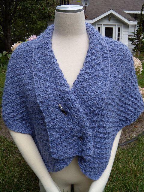 V Shaped Shoulder Shawl Free Knitting Pattern Free Shawl And Wrap