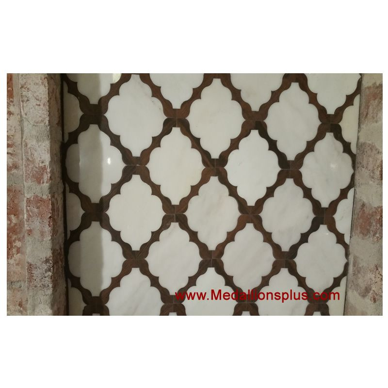 Waterjet Tile Design 30 Marble Wood Porcelain A Medallionsplus