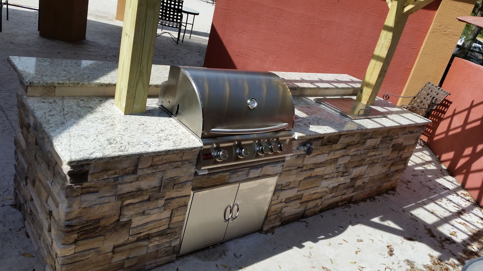 Combining premium features with affordability, Blaze grills