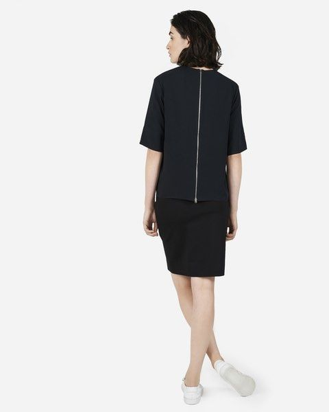 The Japanese GoWeave Back-Zip Tee - Everlane
