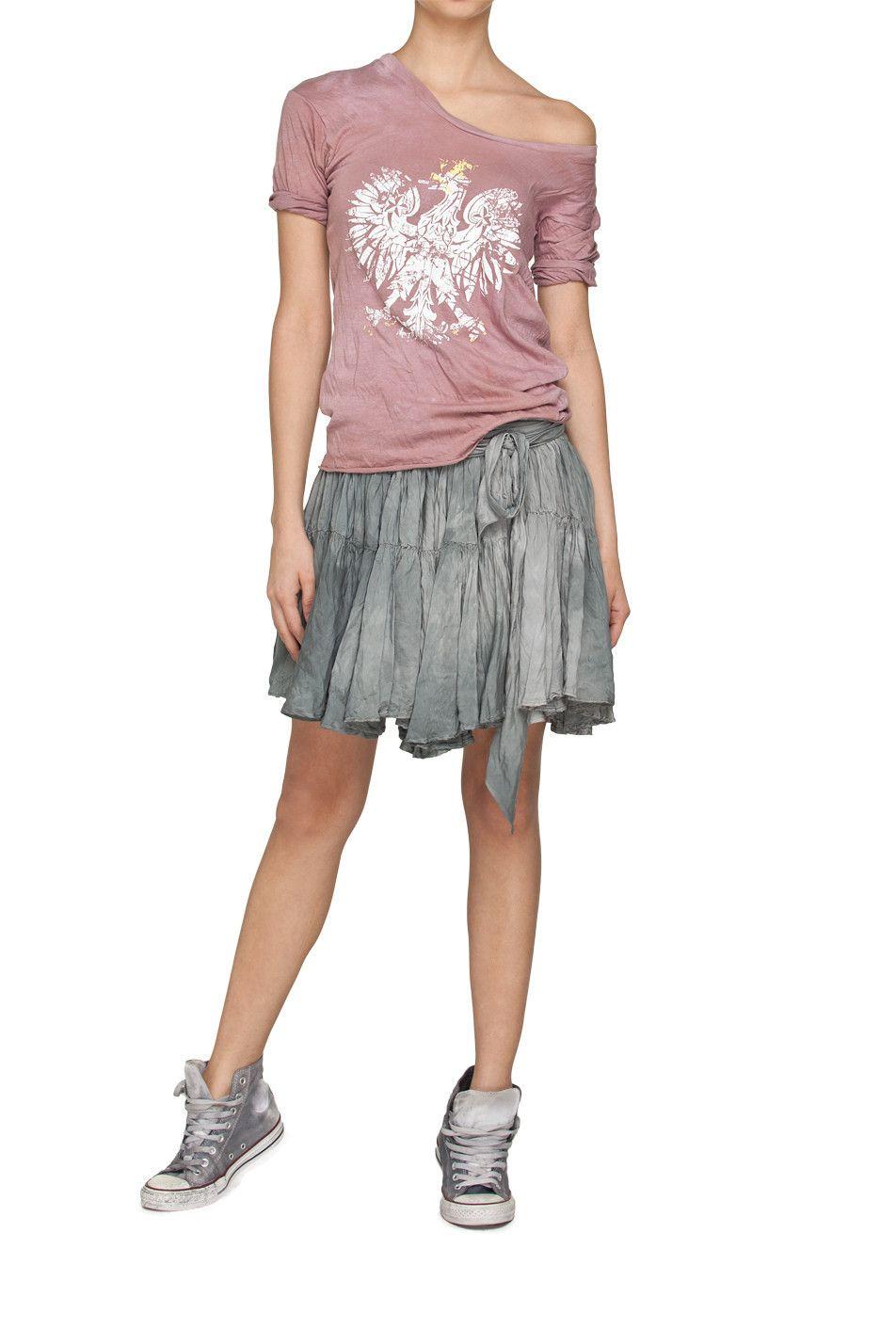 e74759536 T-shirt z orłem różowy ROBERT KUPISZ Qπш - Mostrami.pl ...