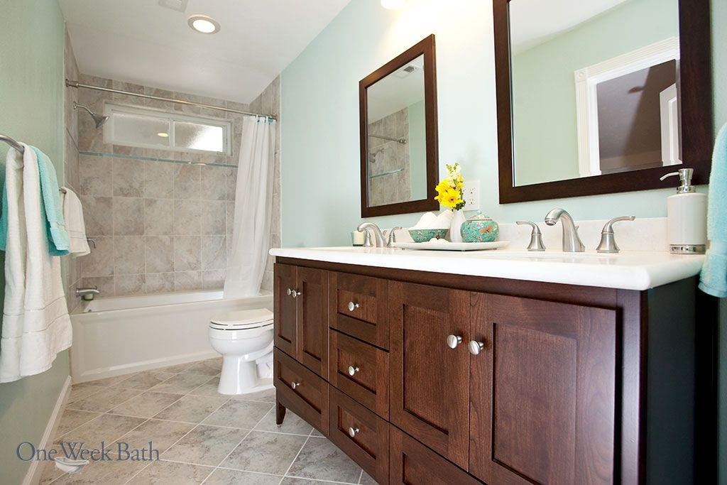 Our Recommendations For Traditional Bathrooms: Traditional Design Style Bathrooms By