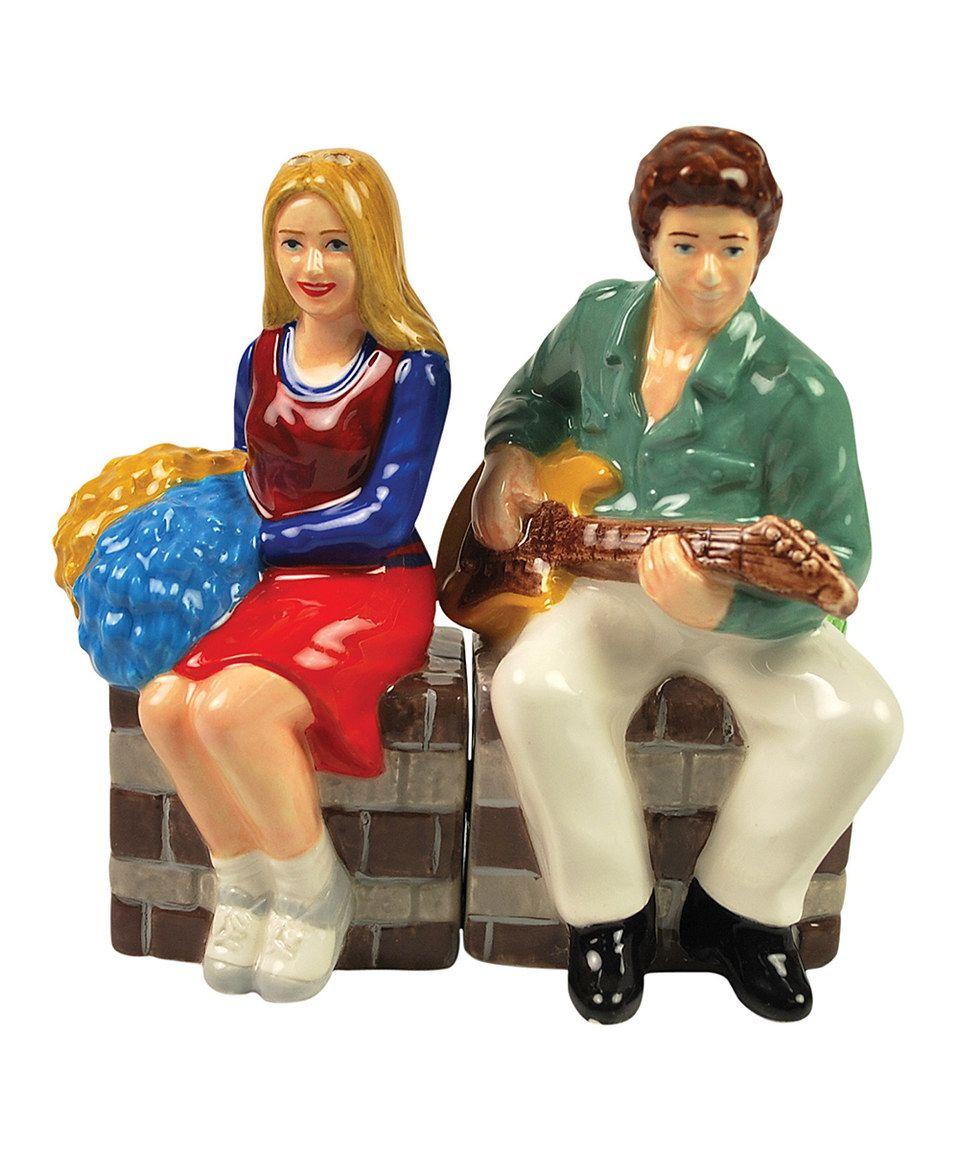 Marcia & Greg Salt & Pepper Shakers by Westland Giftware #zulily #zulilyfinds