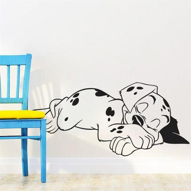 Special offer 57cm Sleeping Dalmatians Dog Animals Pets