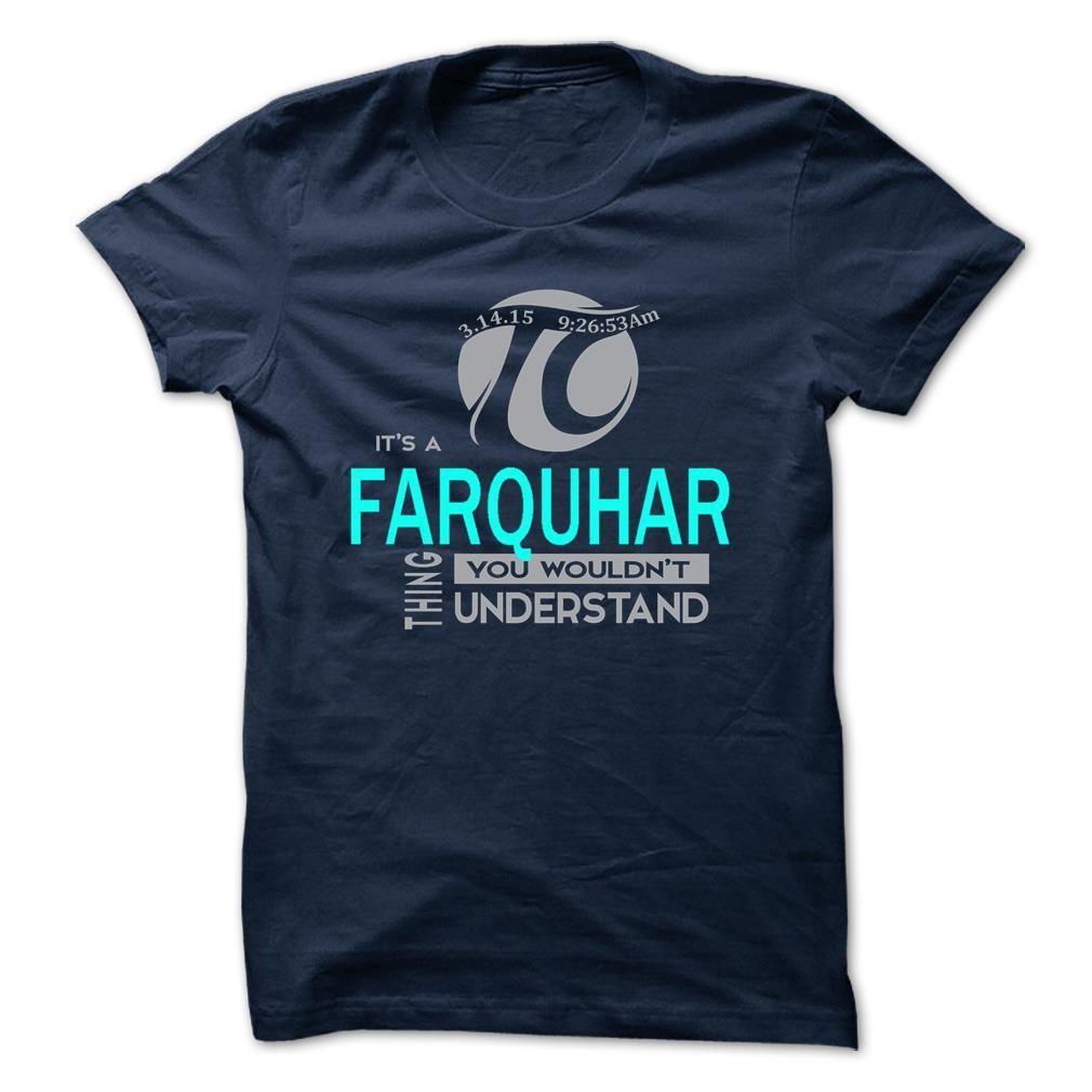 [Popular Tshirt name creator] FARQUHAR Coupon 15% Hoodies, Funny Tee Shirts