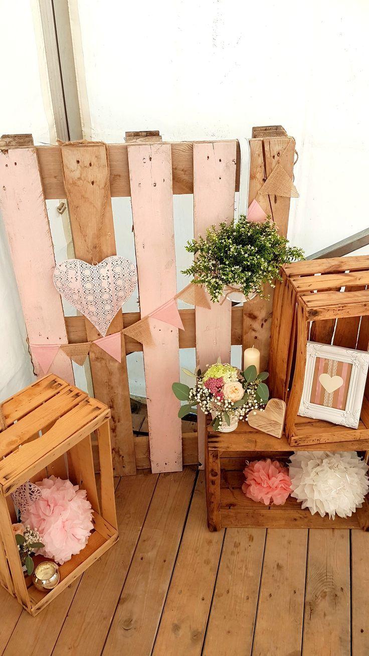 Hochzeit Deko Dekoration Weinkisten Obstkisten Bilderrahmen Windlich Hochzei Easy Diy Wall Hanging Box Picture Frames Rustic Wedding Decor Diy