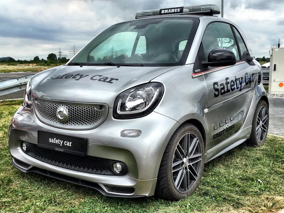 Smart Fortwo Safety Car Smart Smartbrabus Smartfortwo Testcar