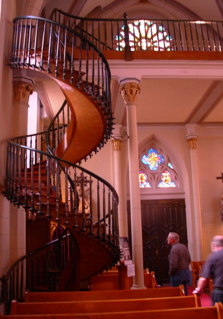 Best Famous Spiral Staircase Loretto Chapel Sante Fe New Mexico 400 x 300