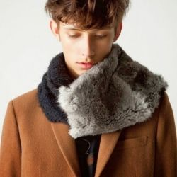 There's a bit of a bohemian vibe to Japanese label, Shareef's Fall/Winter 2013 Collection that also takes cues from today's more youthful, rock inspired styles.