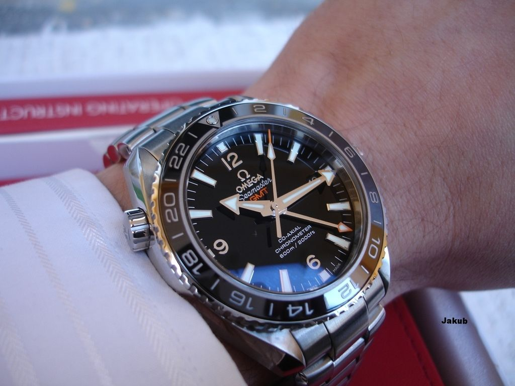 ff93be8292e Image result for Omega Seamaster Planet Ocean 600 M Omega Co-axial GMT 43.5  mm