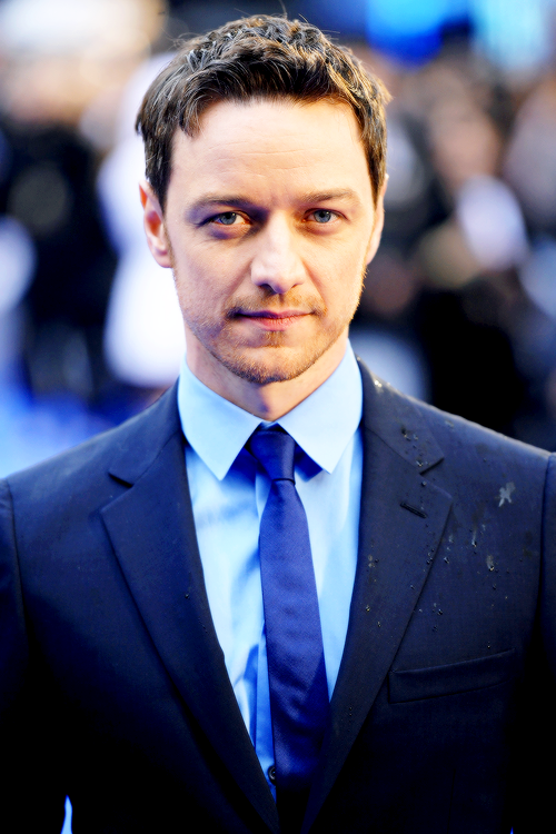 James McAvoy attends the UK premiere of 'X-Men: Days Of Future Past' at the Odeon Leicester Square on May 12, 2014 in London, England.