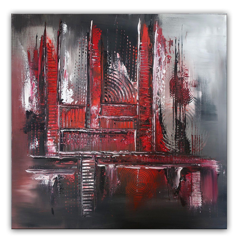 Eternal Abstrakte Kunst Bilder Kaufen Rot Grau Kuenstler Gemaelde Abstrakte Wandbilder Acryl Gemalde Rot Grau Abstrakte Malerei Abstrakt Malerei