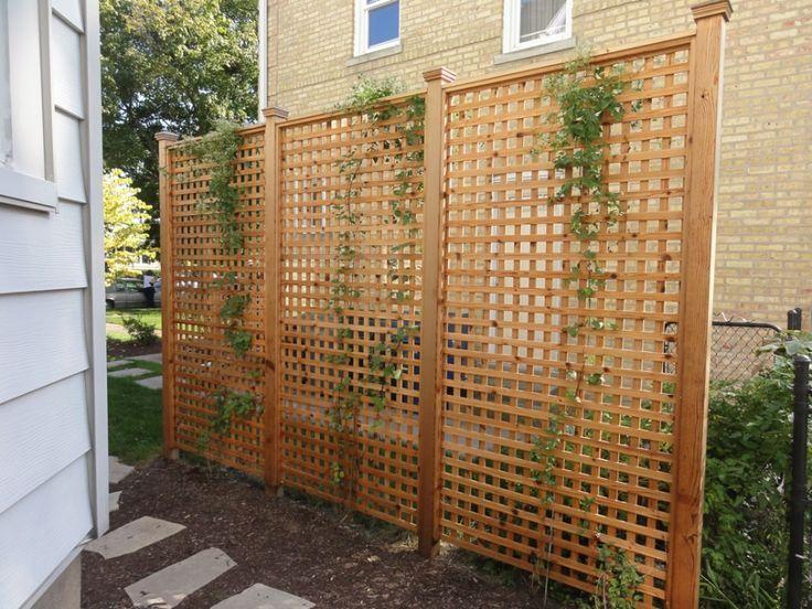 Like the lattice idea for our hallway. Description from ...