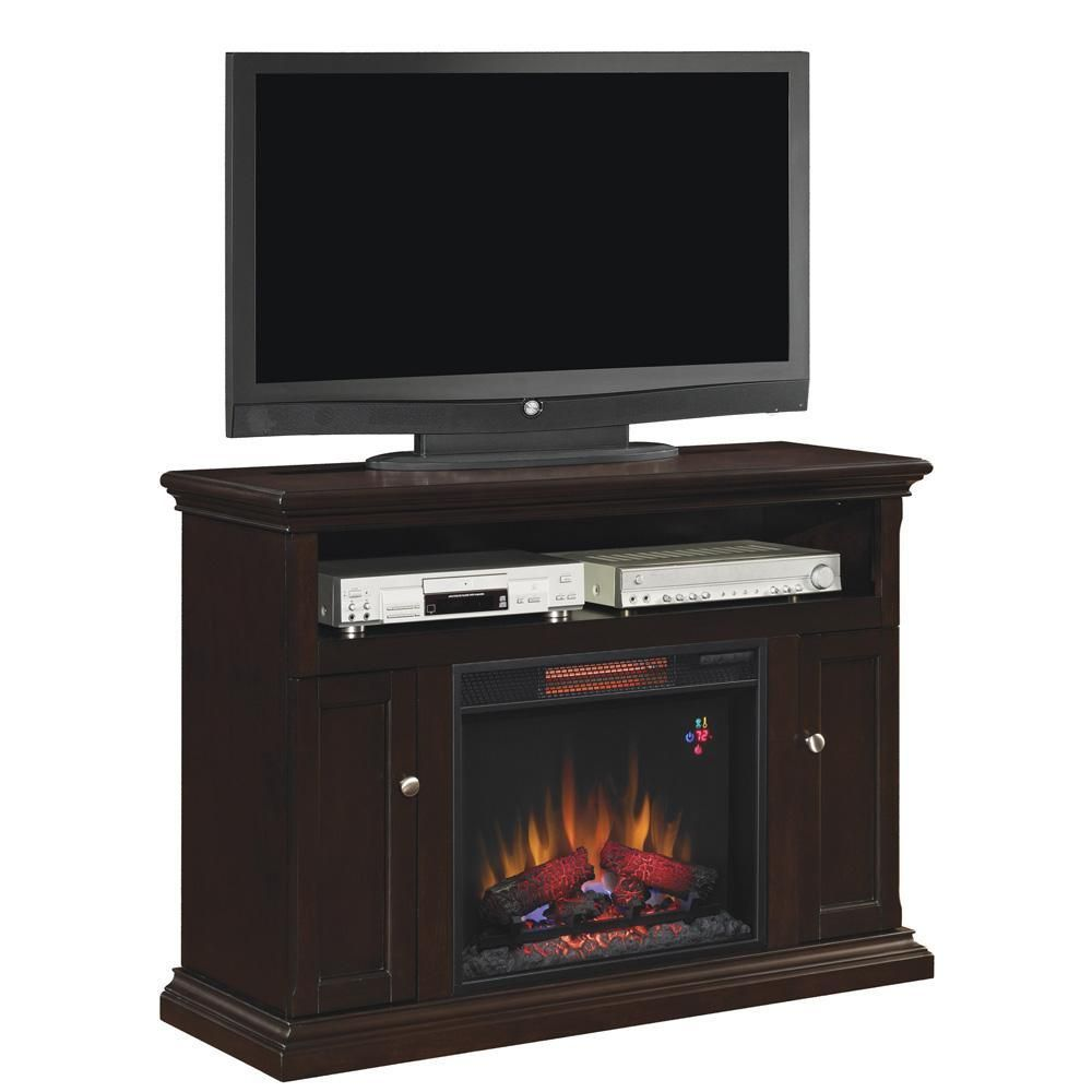 Classic Flame 47 Cannes Infrared Electric Fireplace Media