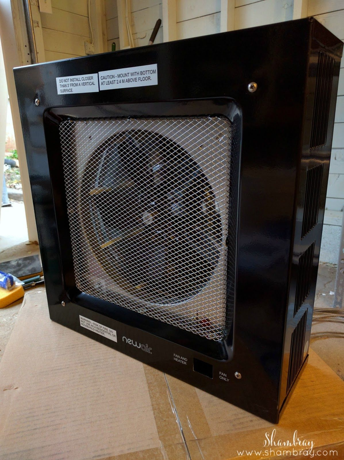 Review of the NewAir G80 Garage Heater Garage heater