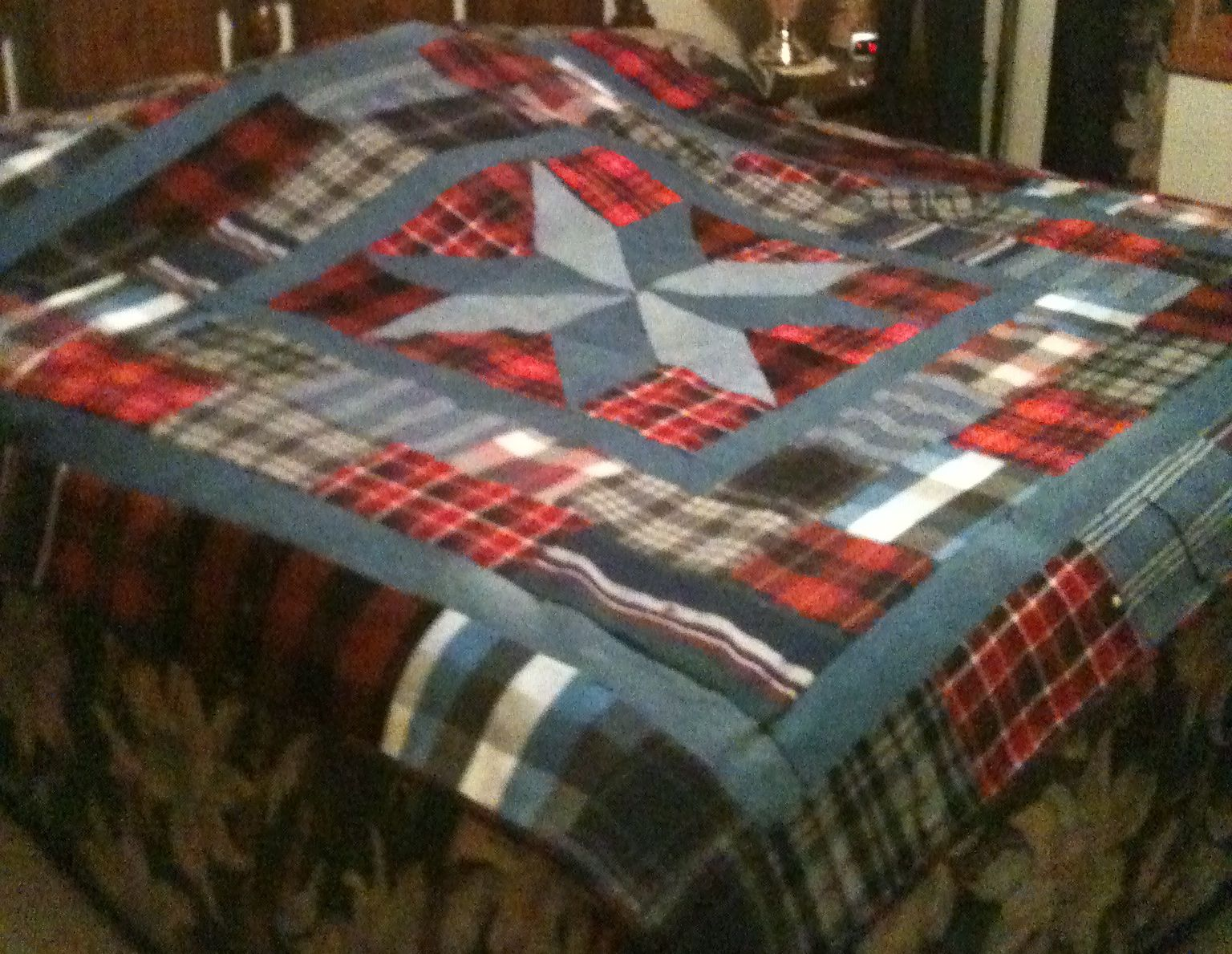 Quilts Made From Loved Ones Clothing Uk
