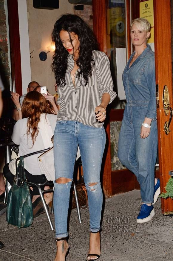Rihanna 39 S Casual Dinner Outfit Is Depressingly Expensive Ummm Ok Pinterest Casual Dinner