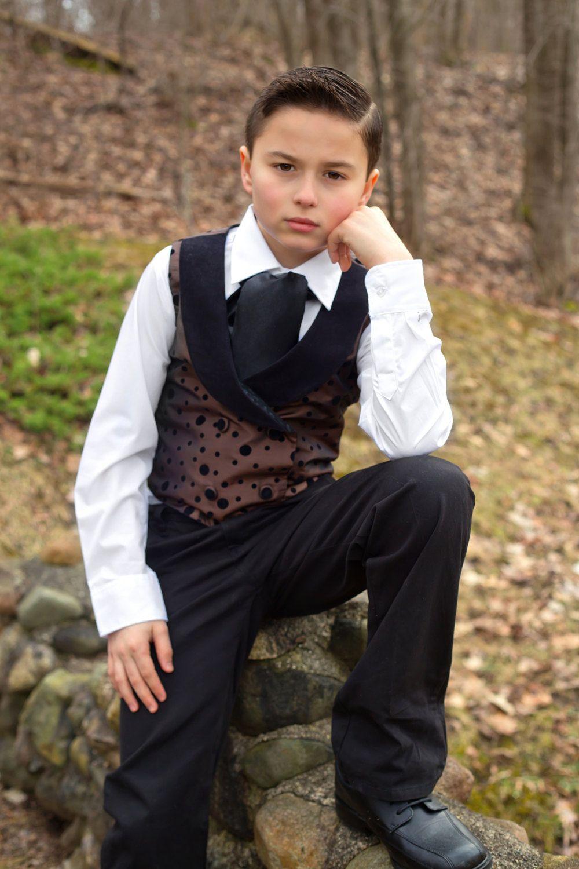 Little Boy Formal Wear - Boys Dress Clothes - Wedding Ring Bearer ...