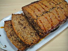 Iraqi Date-Walnut Loaf Cake