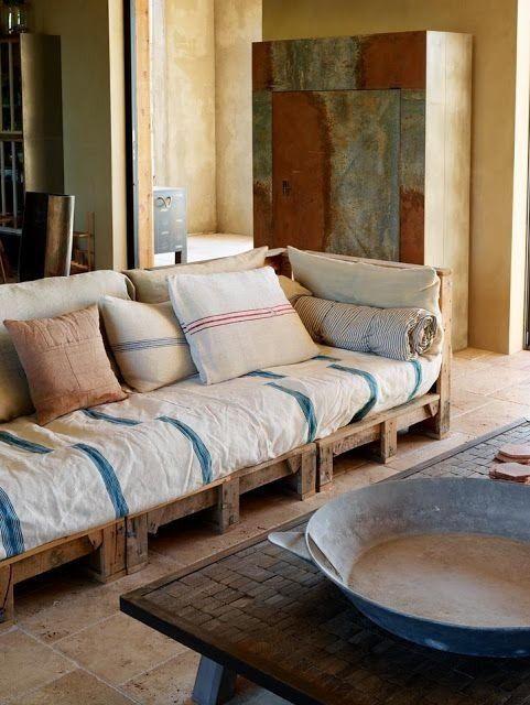 sofa palets | Furniture | Pinterest