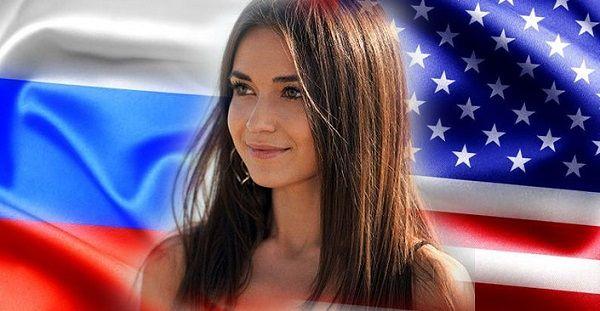 Us Pretty Russian Woman Who